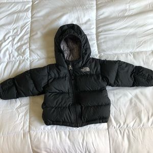 Baby North Face Puffer Coat Size 6-12 Months